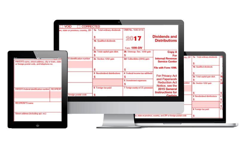 E File 1099 Div Form Form 1099 Div Dividends And Distributions