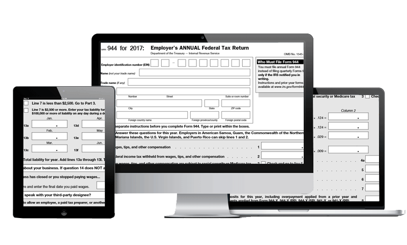 Form 944 e-File | Tax1099.com